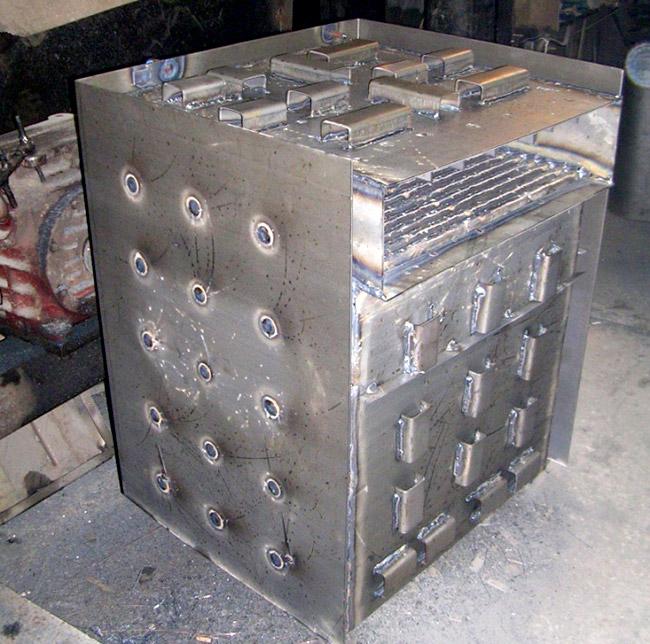 Двухходовой теплообменник d 600 мм f 57 теплообменник пластинчатый м10м 22м